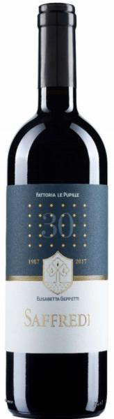 Fattoria Le Pupille Saffredi 2018 - IGT Toscana Rosso - Magnumflasche