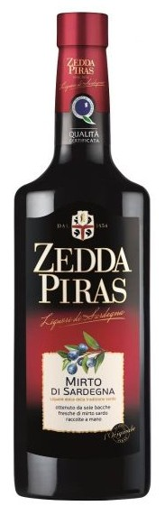 6 Flaschen Mirto Rosso di Sardegna Zedda Piras 0,7 Liter Sella Mosca