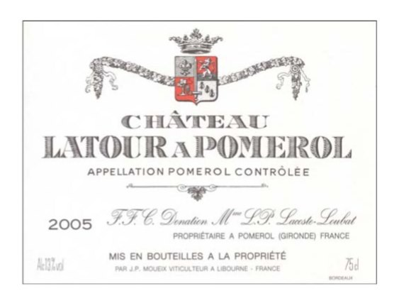 Chateau Latour a Pomerol 2006