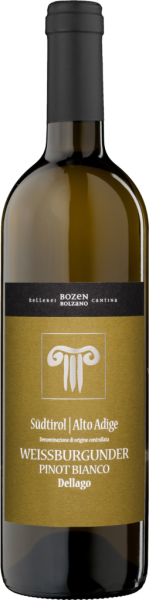 Pinot Bianco Dellago DOC 2017 Cantina Bolzano
